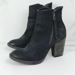 Steve Madden Ryat Nubuck Leather Booties 9